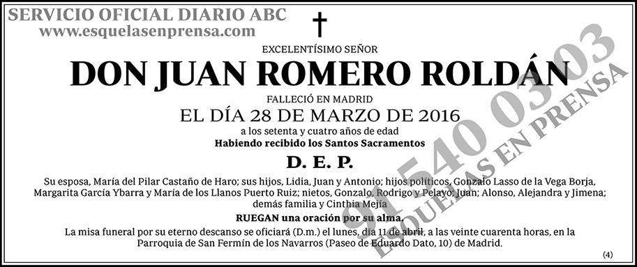 Juan Romero Roldán